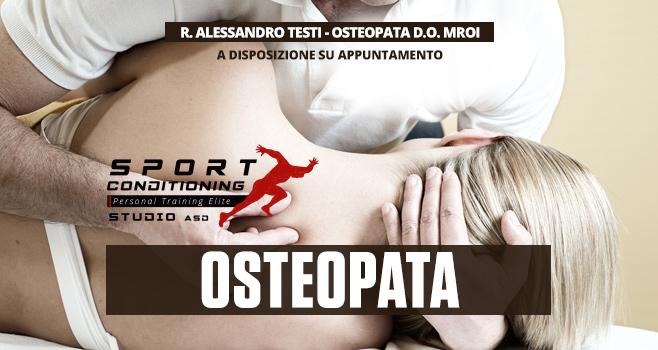 Osteopata in sede su prenotazione