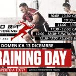 Training Day aperto a tutti / Domenica 13 Dicembre