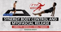 Workshop Synergy Body control and myofascial release