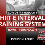 11 Giugno 2016 / Workshop HIIT e Interval Training