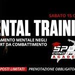15 Ottobre 2016, Corso sull'allenamento mentale negli sport da combattimento