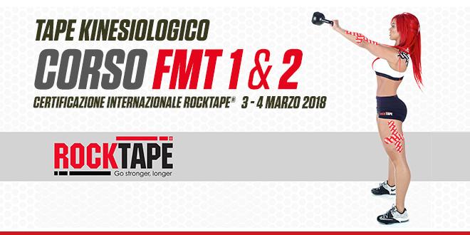 Corso FMT 1 & 2 – Certificazione internazionale Rocktape®