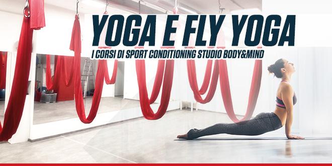 Corsi di Yoga e Fly Yoga