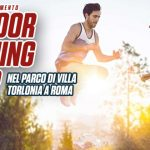 Gruppi di allenamento nel parco di villa Torlonia a Roma – Sport Conditioning Outdoor Training Camp