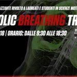 """1 Settembre 2018: Corso professionalizzante """"METABOLIC BREATHING TRAINING"""""""