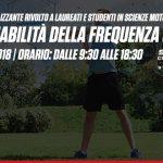 2 Settembre 2018: Corso professionalizzante HRV - STUDIO DELLA VARIABILITA' DELLA FREQUENZA CARDIACA