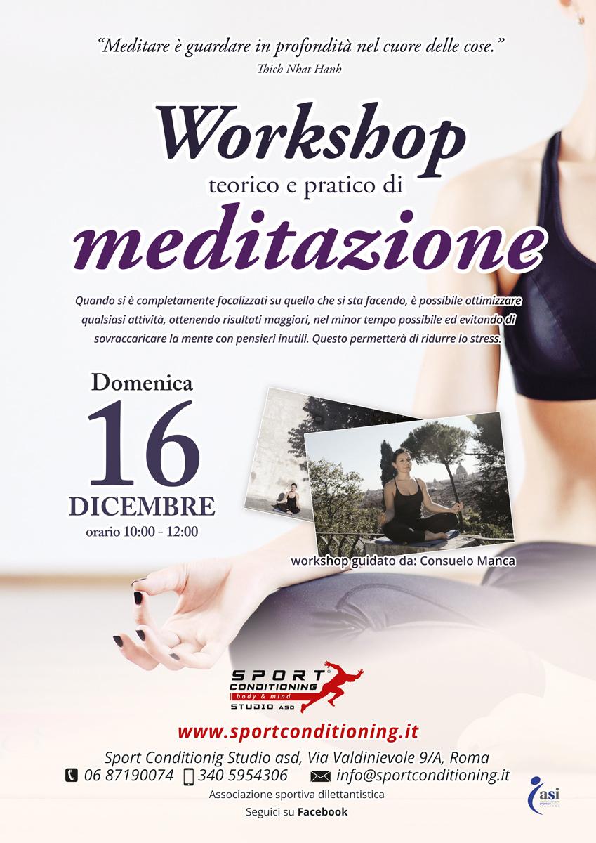 Corso di meditazione (Roma zona Montesacro)