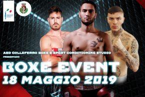 Boxe Event, 18 Maggio, Colleferro