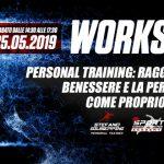 25 maggio 2019: Workshop Personal Training: raggiungere il benessere e la performance come proprio obiettivo
