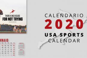 USA Sports Calendar by Sport Conditioning Studio