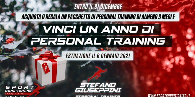 A Natale puoi vincere un anno di Personal Training!